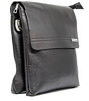 Брендовая кожаная мужская сумка Polo Prime + в подарок нож визитка