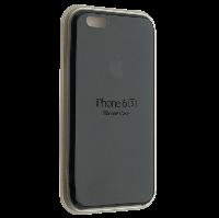 """Чехол Silicon iPhone 6 - """"Черный №18"""""""