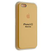 """Чехол Silicon iPhone 6 - """"Желтый №4"""""""