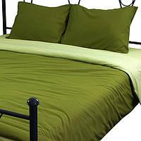 Комплект постельного белья из микрофибы Руно Green_1 Семейный комплект