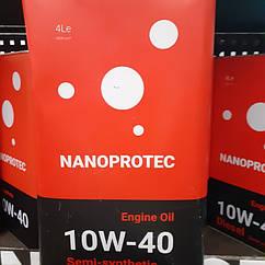 Nanoprotec 10W-40 (4л) Полусинтетическое масло