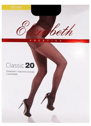 Колготки Elizabeth Prestige 20 den classic Mocca р.5 (00313) | 5 шт.