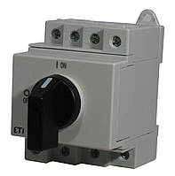 """Выключатель нагрузки LS 32 SMA A2  2р """"1-0"""" 32A 1000V DC, ETI, 4660062"""