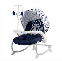 Кресло-качалка Dream time Lorelli Blue&white penguin