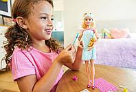 Кукла Barbie Активный отдых Спа с аксессуарами Блондинка GJG55, фото 5