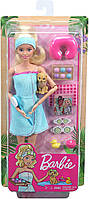 Кукла Barbie Активный отдых Спа с аксессуарами Блондинка GJG55, фото 6