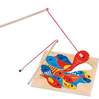 Магнитная игра Bino - Рыбалка (2 удочки)