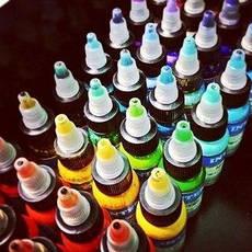 Краски и пигменты для тату и татуажа