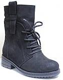 Ботинки замшевые женские зимние от производителя модель О8-471-1, фото 2