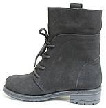 Ботинки замшевые женские зимние от производителя модель О8-471-1, фото 3
