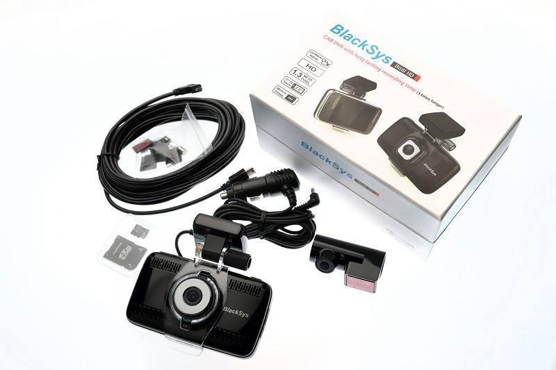 Автомобильный видеорегистратор BlackSys BL-100N (антирадар+регистратор+GPS трекер)