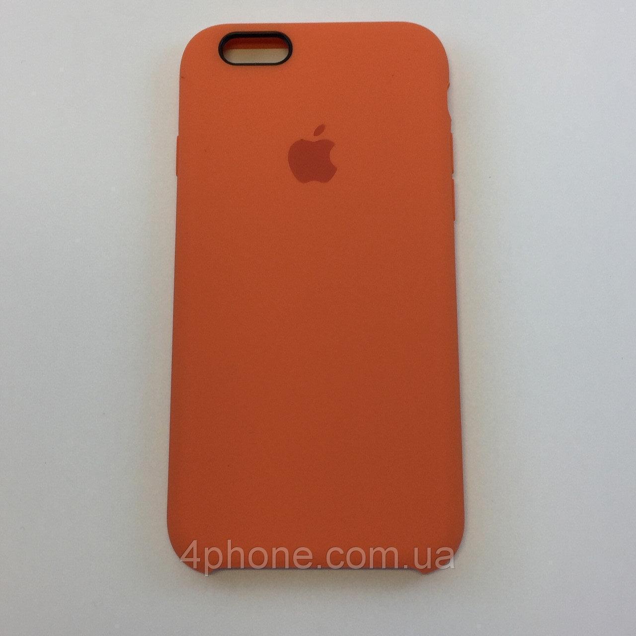 """Чехол Silicon iPhone 6s - """"Абрикос №2"""""""