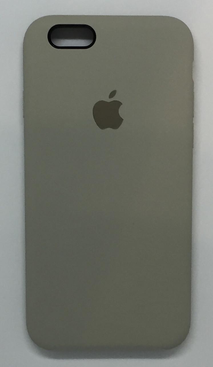 "Чехол Silicon iPhone 6s - ""Белый камень №10"""