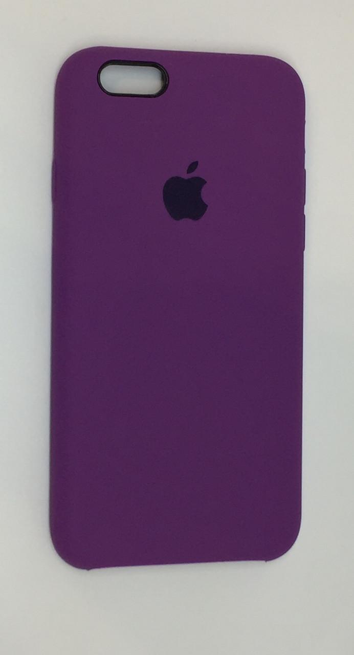 "Чехол Silicon iPhone 6s - ""Пурпурный №45"""