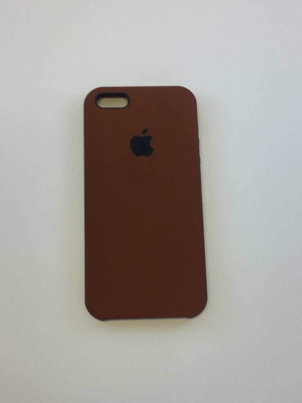 """Чохол Silicon iPhone 6s - """"Шоколад №60"""""""