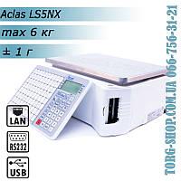 Весы с печатью этикетки Aclas LS5 (LS5NX 6кг)
