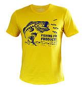 Футболка Fishing ROI BASS, желтая