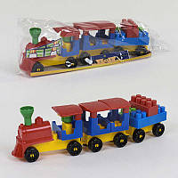 Конструктор Волшебный поезд 0274 24 31 дет, Технок - 219114