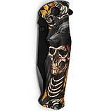 Нож складной Скелет, полуавтомат, клипса, карманные ножи, фото 2