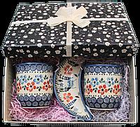 """Подарочный набор посуды """"Beautiful blue flowers Set"""", фото 1"""