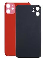 Задняя крышка для iPhone 11, красная, копия высокого качества