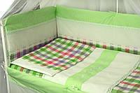 Защитное ограждение для детской кроватки Руно Прованс