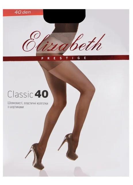 Колготки Elizabeth Prestige 40 den classic Visone р.3 (00314) | 5 шт.
