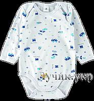 """Боди-футболка для малышей. Размер: 74. белый. TM """"ФЛАМИНГО ТЕКСТИЛЬ"""" 494-222/2. Украина."""