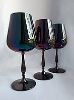 Набор бокалов Bohemia Scopus 450 ml (цвет: ЧЕРНЫЙ ХАМЕЛЕОН)