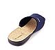 Тапки мужские Inblu открытые синие QG-5B(004), фото 2