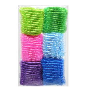 KATTi Резинка для волос 27 414 большая петля набор A цветная микс 6шт, фото 2