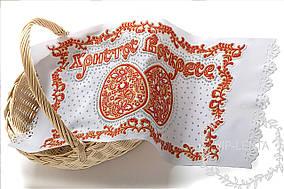 Красная пасхальные яйца-салфетка
