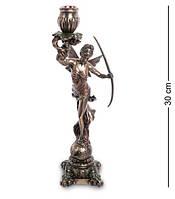 Статуэтка, подсвечник Диана - богиня охоты, женственности и плодородия Veronese WS-979