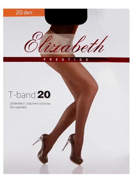 Колготки Elizabeth Prestige 20 den t-band Visone р.5 (00315) | 5 шт.