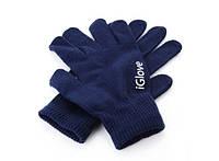 Перчатки для iРhone iGloves Синие 211-13713174