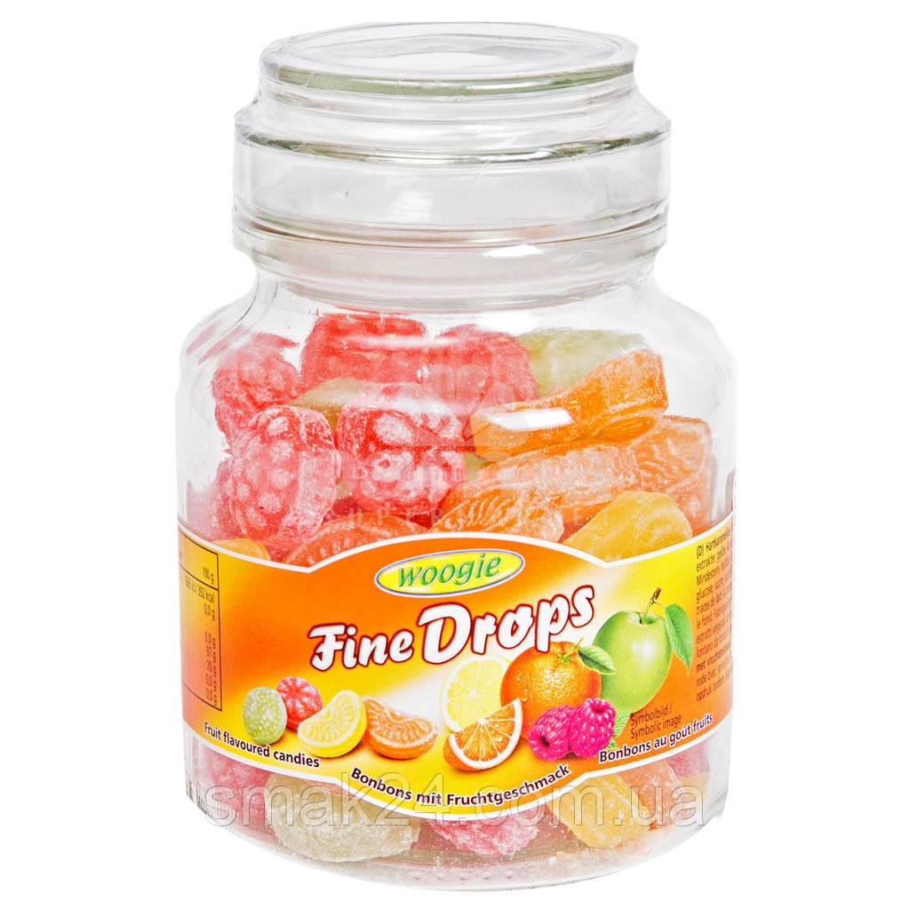 Леденцы (конфеты) Woogie Fine Drops (мелкие капли) микс фруктовый  Австрия 300г