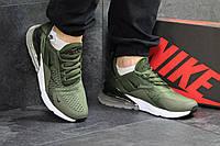 Мужские кроссовки в стиле Nike Air Max 270, зеленые 43 (27,5 см)