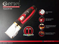 Машинка для стрижки бороди і волосся Gemei GM-550 з керамічними лезами, фото 2