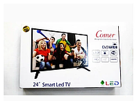 Телевізор COMER 24 Smart E24 DM1100 (Смарт телевізор Комер Андроїд), фото 2