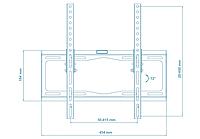 "Настенный кронштейн C45 для LCD или LED телевизора диагональю от 26"" до 52 дюймов, фото 6"