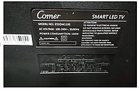 """Телевізор COMER 55"""" Smart 4K (E55DM1200) (Смарт телевізор Комер Андроїд, фото 6"""