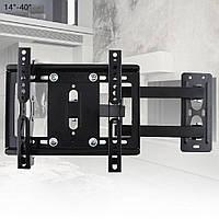 """Кронштейн для телевізорів і моніторів CP201 з діагоналлю 14-40"""", фото 2"""