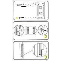 """Кронштейн для телевізорів і моніторів CP201 з діагоналлю 14-40"""", фото 10"""
