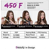 Утюжок випрямляч для волосся DSP 10023, фото 8