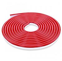 Стрічка Neon в бухті 5м 12V DC Червоний (7187) / Світлодіодна стрічка Червона, фото 4