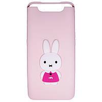 Чехол Cartoon 3D Case для Samsung A805 Galaxy A80 Кролик