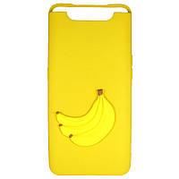 Чехол Cartoon 3D Case для Samsung A805 Galaxy A80 Бананы