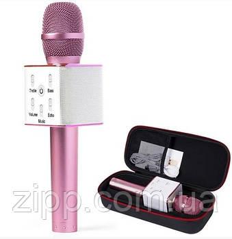 Бездротовий караоке-мікрофон MicGeek Q9 Рожевий