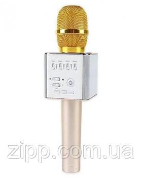 Портативний караоке мікрофон UTM Q9 з 2 динаміками