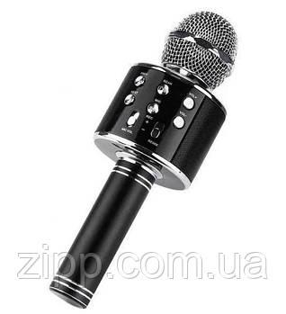 Бездротовий мікрофон караоке UTM WS858 з чохлом Black